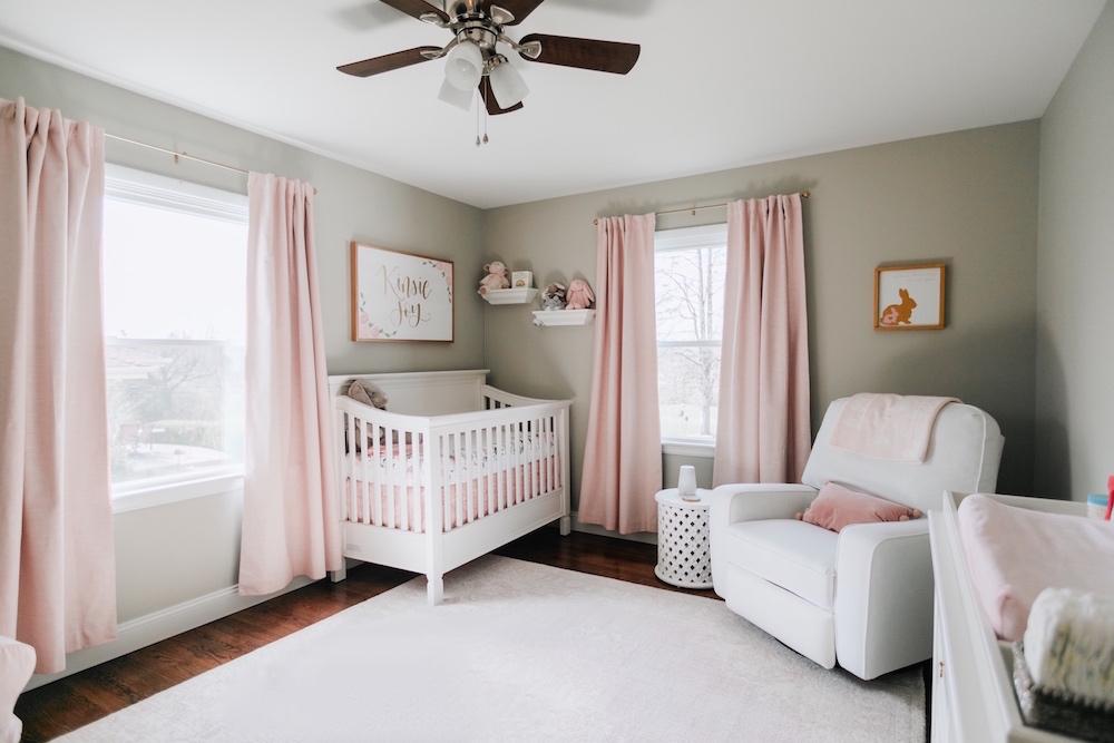 baby girl nursery inspo