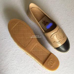 Chanel espadrilles sole