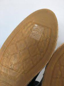 Chanel espadrilles sole2