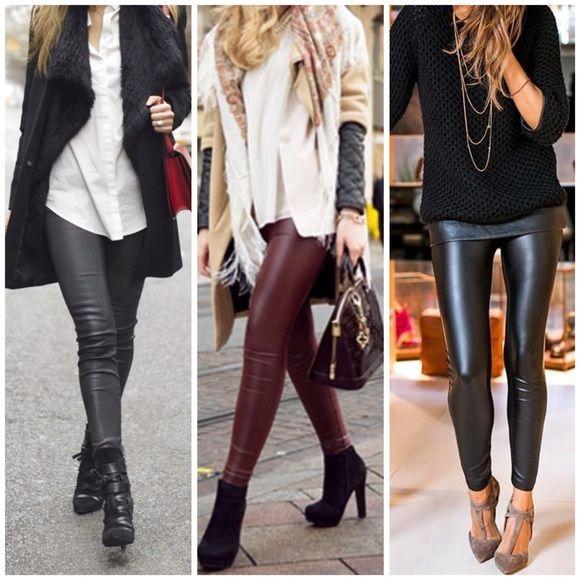 faux leather leggings3