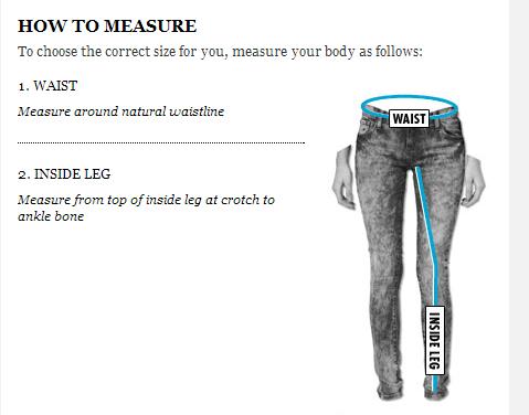 inside leg measurement