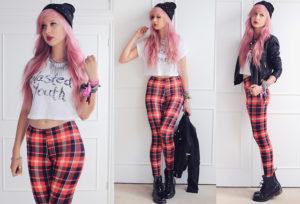 plaid leggings2
