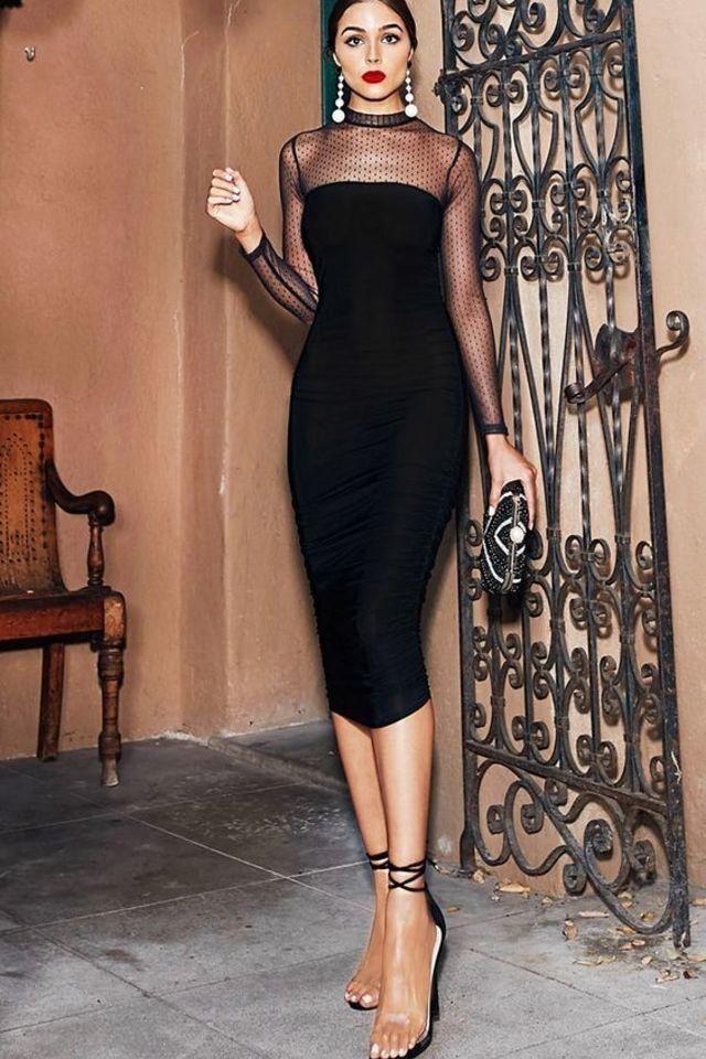 black dress for nye