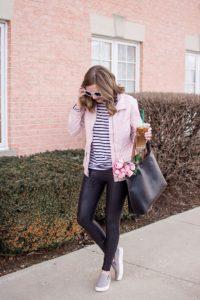 leggings and pastels