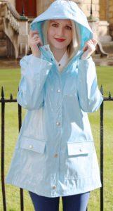 pastel raincoat
